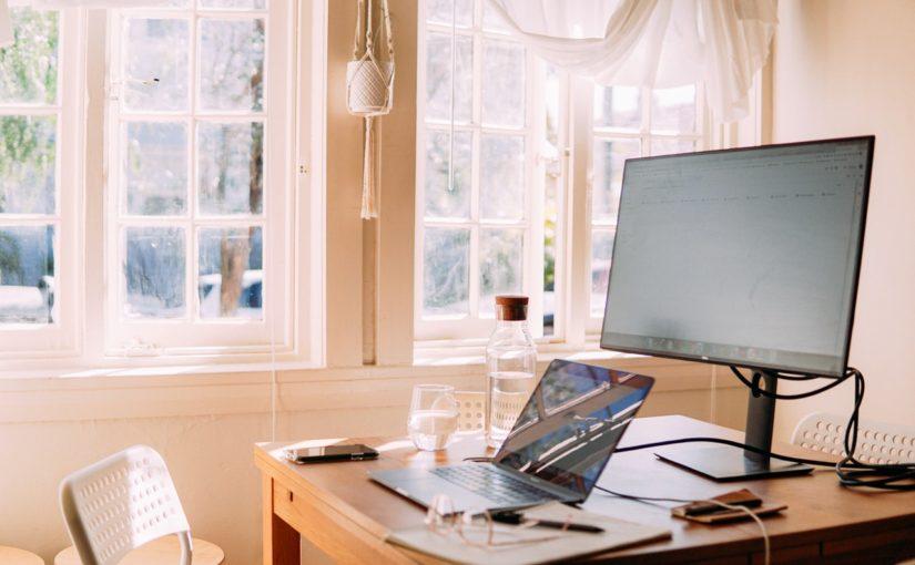 Wspólna przestrzeń do pracy w domu
